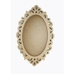 Carolee's Creations - Adornit - Wood Shop Project - Shaped Shadow Box - Dainty Oval