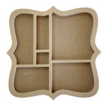 Carolee's Creations - Adornit - Wood Shop Project - Shaped Shadow Box - Bracket