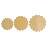 Carolee's Creations - Adornit - Bare Wood Surface - Round Scallop Pack