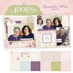 Carolee's Creations - Adornit - Remember When Collection - 12 x 12 Paper Pack