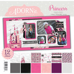 Carolee's Creations - Adornit - Princess Collection - 12 x 12 Paper Pack