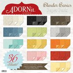 Carolee's Creations - Adornit - Blender Basics Collection - 12 x 12 Paper Pack