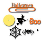Carolee's Creations Adornit - Halloween Collection - Metal Accents - Halloween, CLEARANCE