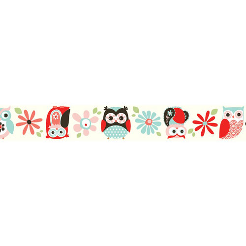 Carolee's Creations - Adornit - Nested Owls Coral Collection - Ribbon - Jumbo Owls - Coral