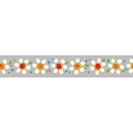 Carolee's Creations - Adornit - Wild Flower Collection - Ribbon - Daisy Pop - Blue