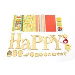 Carolee's Creations - Adornit - Happy Wood Swag Craft Kit