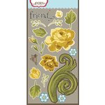 Carolee's Creations - Adornit - Bumble Collection - Die Cut Cardstock Shapes - Coming Up Roses