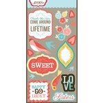 Carolee's Creations - Adornit - Home Tweet Home Collection - Die Cut Cardstock Shapes - Happy Go Lucky