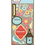 Carolee's Creations - Adornit - Home Tweet Home Collection - Die Cut Cardstock Shapes - Tweetie