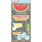 Carolee's Creations - Adornit - Summertime Memories Collection - Die Cut Cardstock Shapes