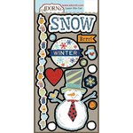 Carolee's Creations - Adornit - Snow Days Collection - Die Cut Cardstock Shapes - Snowman