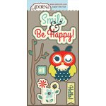 Carolee's Creations - Adornit - Nested Owl Mint Collection - Die Cut Cardstock Shapes - Hello Owl