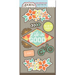Carolee's Creations - Adornit - Kaleidoscope Collection - Die Cut Cardstock Shapes - Kaleidoscope