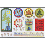 Carolee's Creations Adornit - Back 2 Nature Collection - Foam Stickers - Outdoor Goodies, CLEARANCE