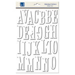 Carolee's Creations - Adornit - Foam Dimensional Stickers - Alphabet - White, CLEARANCE
