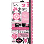 Carolee's Creations - Adornit - Dance Collection - Cardstock Stickers - Dance