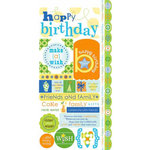 Carolee's Creations - Adornit - Boy Birthday Collection - Cardstock Stickers - Make A Wish