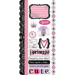 Carolee's Creations - Adornit - Princess Collection - Cardstock Stickers - Princess Dreams