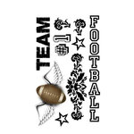 Carolee's Creations - Adornit - Football Collection - Clear Stickers - Football