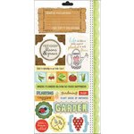 Carolee's Creations - Adornit - Garden Fun Collection - Cardstock Stickers - Garden Seeds