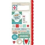 Carolee's Creations - Adornit - Ouch Collection - Cardstock Stickers - Getting Better