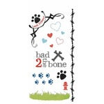 Carolee's Creations - Adornit - Doggie Life Collection - Clear Stickers - Doggy Life