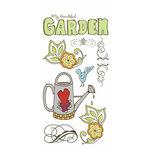 Carolee's Creations - Adornit - Garden Fun Collection - Clear Stickers - Garden Fun
