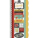 Carolee's Creations - Adornit - Forever Family Collection - Cardstock Stickers - Kindred Border