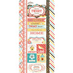 Carolee's Creations - Adornit - Home Tweet Home Collection - Cardstock Stickers - Sweet Sunshine Border