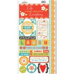 Carolee's Creations - Adornit - Crazy for Daisy Collection - Cardstock Stickers - Bloom Today