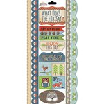 Carolee's Creations - Adornit - Timberland Critters Collection - Cardstock Stickers - Fox Talk