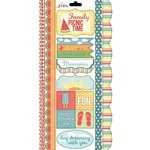 Carolee's Creations - Adornit - Summertime Memories Collection - Cardstock Stickers - Picnic Time