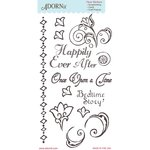 Carolee's Creations - Adornit - Storybook Collection - Clear Stickers - The End