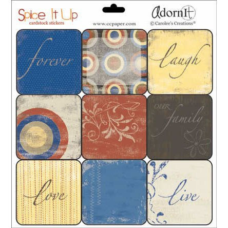 Carolee's Creations - Spice it Up Cardstock Stickers - Everyday Collection - Everyday