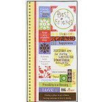 Carolee's Creations Adornit - Sister Love Collection - Cardstock Stickers - Sister Love