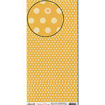 Carolee's Creations Adornit - Sticker Paper - Mustard Dots, CLEARANCE