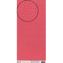 Carolee's Creations Adornit - Sticker Paper - Cranberry Dots, CLEARANCE