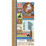 Carolee's Creations - Adornit - Dirt Bike Collection - Cardstock Stickers - Dirt Bike Attitude