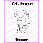 CC Designs - Cling Mounted Rubber Stamps - Rodney