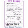 CC Designs - Cling Mounted Rubber Stamps - All About Teachers