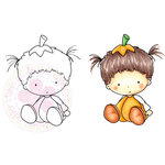 CC Designs - Cling Mounted Rubber Stamps - Punkin Beatrice