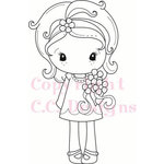 CC Designs - Cling Mounted Rubber Stamps - Spring Kiki La Rue