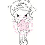CC Designs - Cling Mounted Rubber Stamps - Latte Kiki La Rue