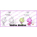 CC Designs - Meoples Collection - Cling Mounted Rubber Stamps - Voodoo HooDoo