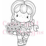 CC Designs - Swiss Pixie Collection - Cling Mounted Rubber Stamps - Bouquet Birgitta