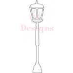 CC Designs - Swiss Pixie Collection - Cling Mounted Rubber Stamps - Lamp Post