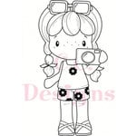 CC Designs - Swiss Pixie Collection - Cling Mounted Rubber Stamps - Camera Birgitta