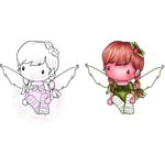 CC Designs - Swiss Pixie Collection - Cling Mounted Rubber Stamps - Pixie Lucy