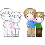 CC Designs - Swiss Pixie Collection - Cling Mounted Rubber Stamps - Brother
