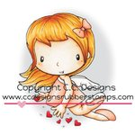 CC Designs - Swiss Pixie Collection - Cling Mounted Rubber Stamps - Cupid